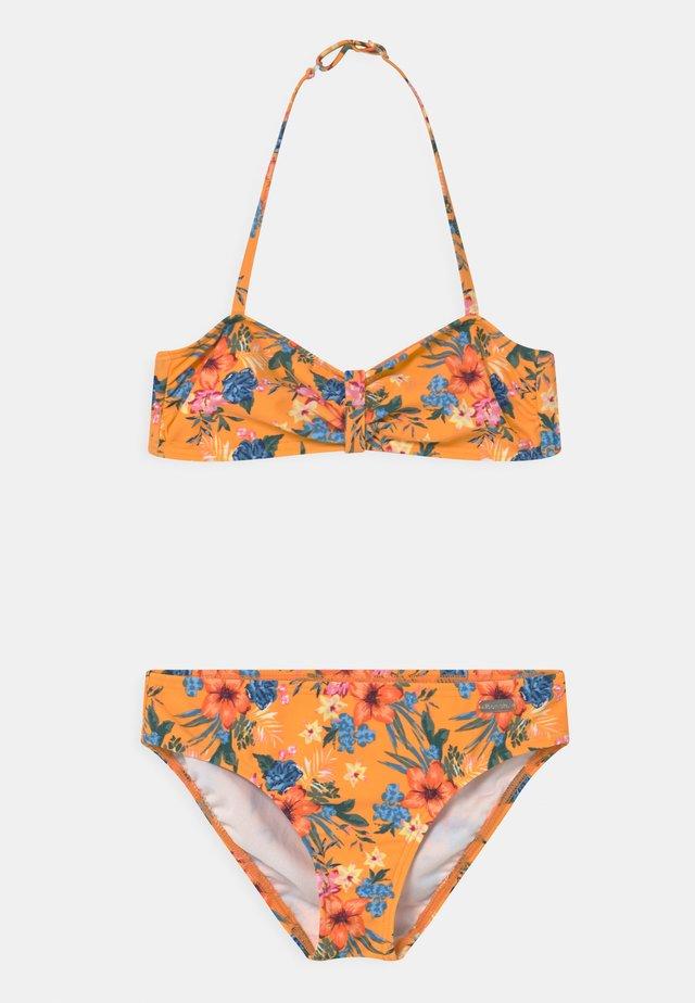 BANDEAU MAUI SET - Bikini - yellow