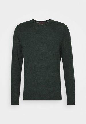 NEW BASIC CREW - Sweter - spruce green melange