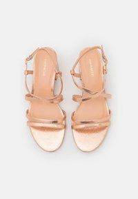 Even&Odd Wide Fit - WIDE FIT - Sandals - rose gold - 5