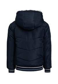 WE Fashion - REVERSIBLE WATERAFSTOTENDE WINTERJAS - Winterjas - dark blue - 2