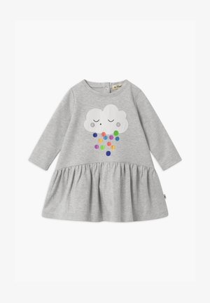 APPLIQUE - Jerseyjurk - light grey