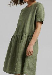 Esprit - DRESS - Day dress - light khaki - 5