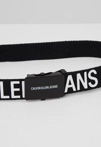 Calvin Klein Jeans - BELT - Pasek - black - 2