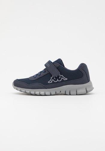 FOLLOW UNISEX - Sports shoes - navy/grey