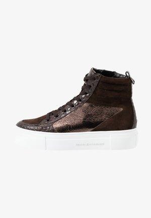 BIG - Sneakers high - bronze/braun/mocca