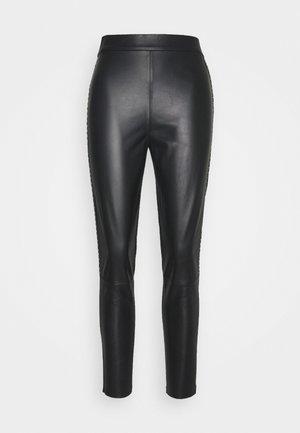 FLAVIO TROUSERS - Leggings - Trousers - black