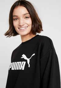 Puma - LOGO CREW  - Sudadera - black - 3