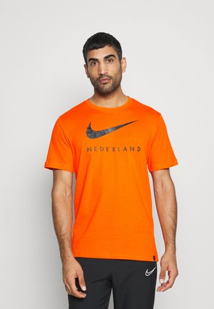 NIEDERLANDE TEE GROUND - National team wear - safety orange