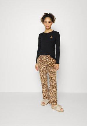 TOP AND PANT - Pyjamas - black