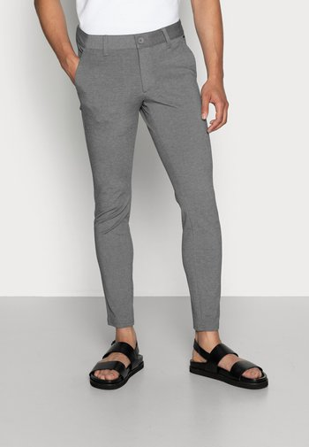 ONSMARK PANT - Trousers - medium grey melange