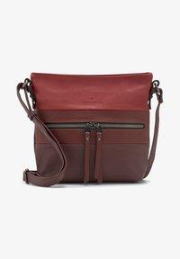 TOM TAILOR - ELLEN  - Across body bag - mixed red - 0