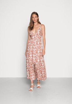 RESORT BUTTON DRESS - Maxi dress - pink