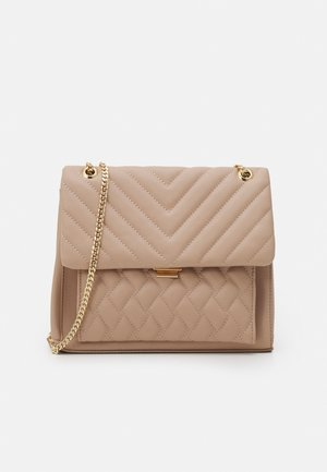 JULIA QUILTED BAG - Handbag - taupe