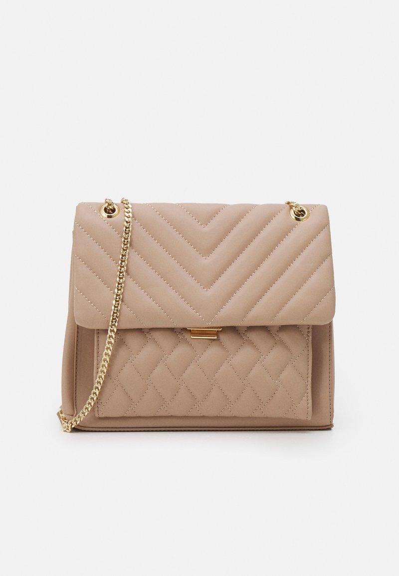 Forever New - JULIA QUILTED BAG - Handbag - taupe