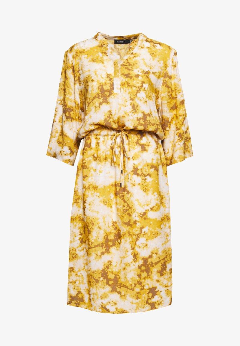 Soaked in Luxury - ZAYA DRESS - Day dress - gold