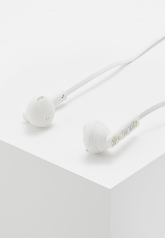 BERLIN BLUETOOTH UNISEX - Headphones - fluffy cloud white