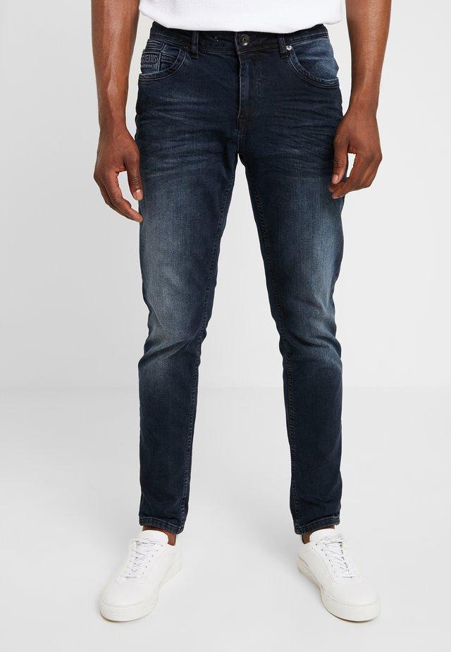 BLAST - Jean slim - blue/black