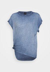 GYRE KNOT CAP - Print T-shirt - blue