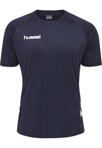 Hummel - Sports shorts - marine - 1