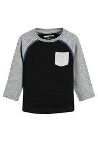 Next - 3PACK  - T-shirt à manches longues - black - 1