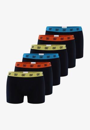 6 PACKS  - Bokserit - Black / Multi