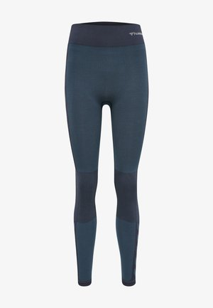 Leggings - blue nights melange