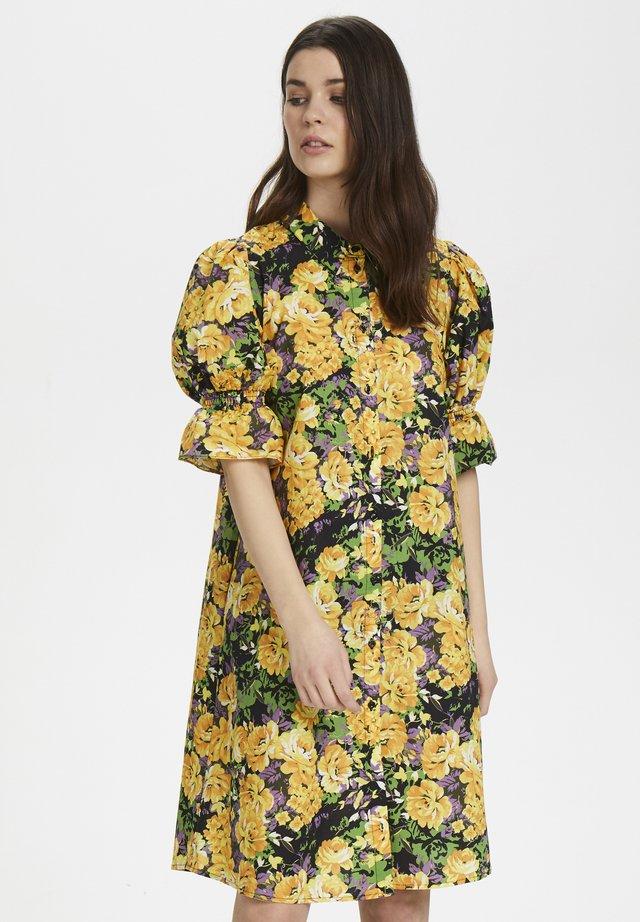 CASSIAGZ - Day dress - yellow flower garden