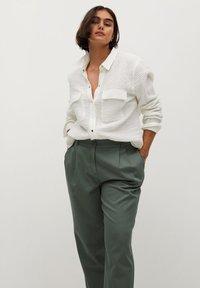 Violeta by Mango - NEWPEPI - Trousers - khaki - 3