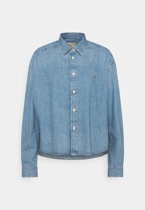 LONG SLEEVE BUTTON FRONT SHIRT - Camisa - zaia