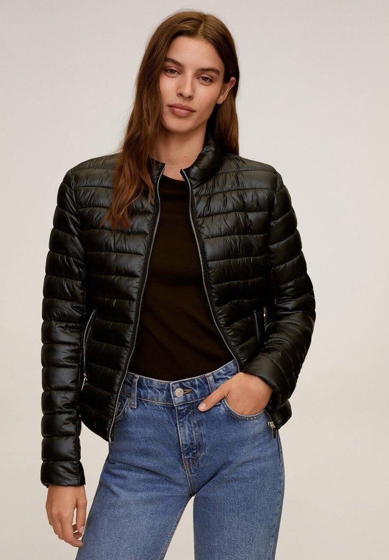 Mango - BLANDI - Light jacket - noir