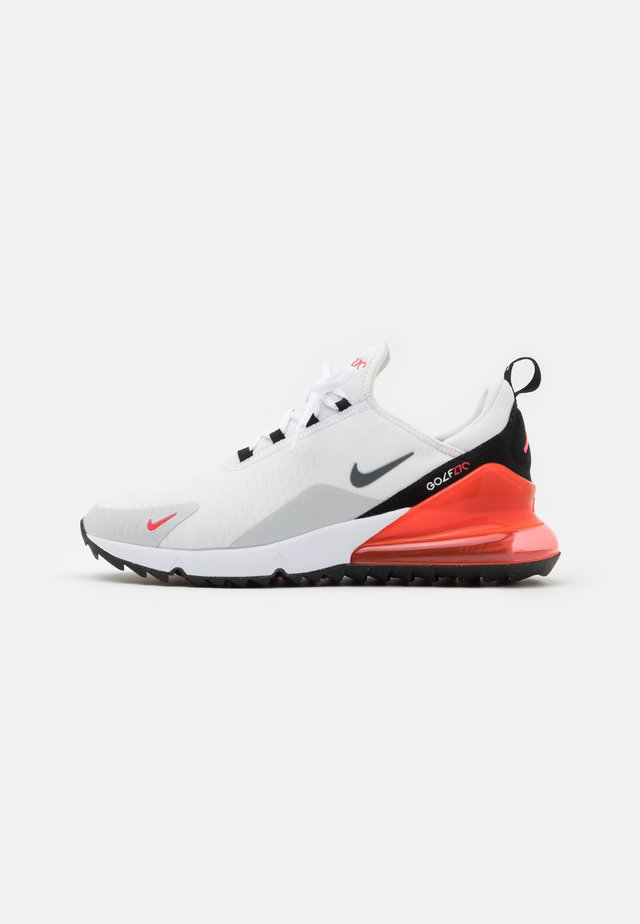 AIR MAX 270 G - Chaussures de golf - white/cool grey/neutral grey/black