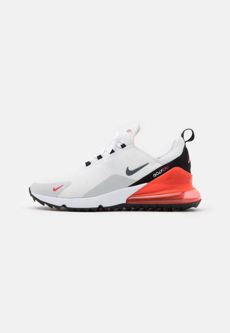 Nike Golf Air Max 270 G Obuwie Do Golfa White Cool Grey Neutral Grey Black Bialy Zalando Pl