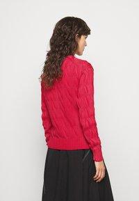 Polo Ralph Lauren - LONG SLEEVE - Strikkegenser - faded red - 2