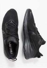 Nike Performance - RENEW RIDE - Neutral running shoes - black/dark smoke grey - 1