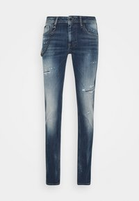 Antony Morato - IGGY TAPERED FIT IN CROSS STRETCH - Slim fit jeans - blue denim - 0