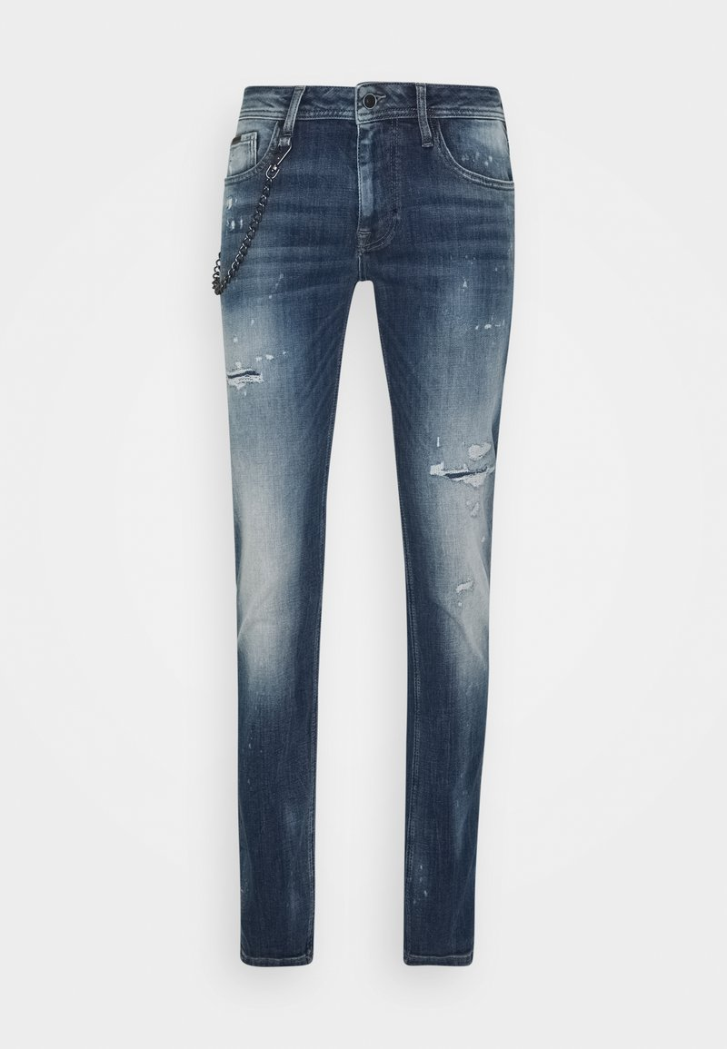 Antony Morato - IGGY TAPERED FIT IN CROSS STRETCH - Slim fit jeans - blue denim