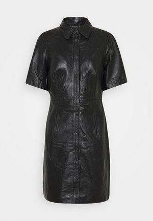 OBJPRIA DRESS - Day dress - black
