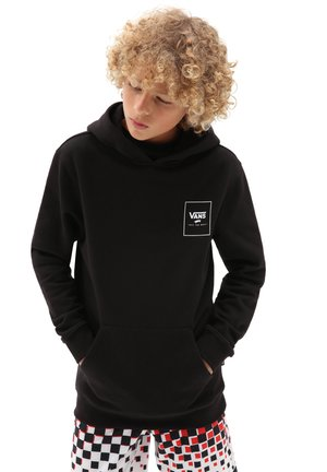 BY PRINT BOX BACK PO BOYS - Sweat à capuche - black slime