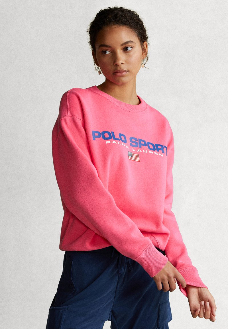 Polo Ralph Lauren - SEASONAL - Collegepaita - blaze knockout pink