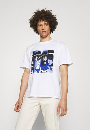 FACE TO FACE - Print T-shirt - white