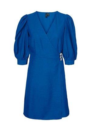 Sukienka letnia - nautical blue
