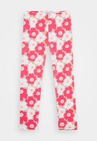 Marimekko - LAIRI UNIKKO TROUSERS - Leggings - Trousers - beige/pink/white - 0