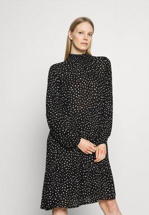 KABILLIE AMBER DRESS - Day dress - black/chalk