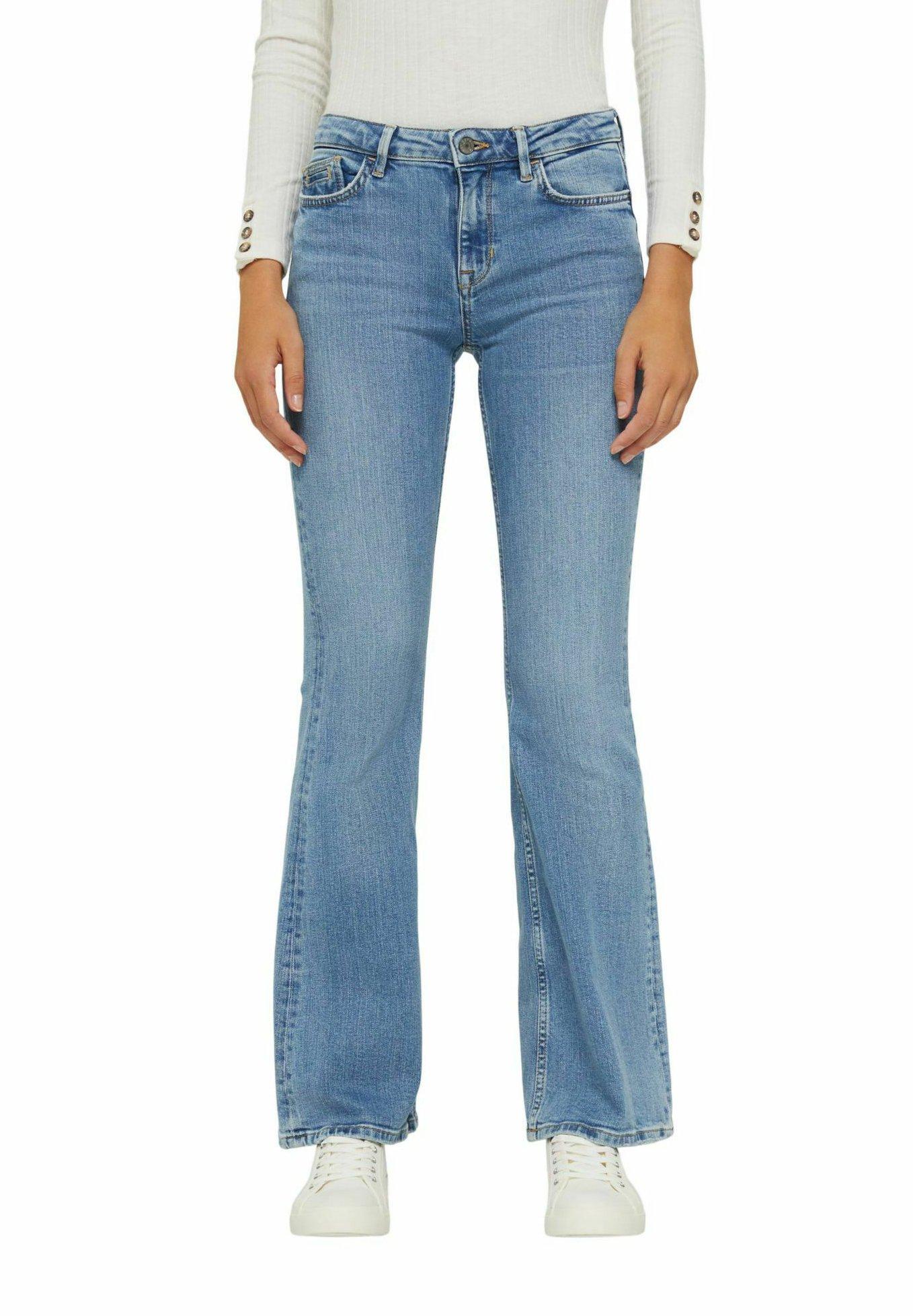 Damer MIT AUSGESTELLTEM BEIN - Flared jeans