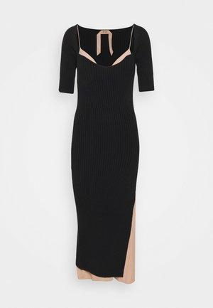 ABITO MAGLIA - Jumper dress - nero