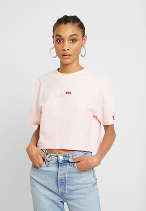 FIREBALL - T-shirts med print - light pink