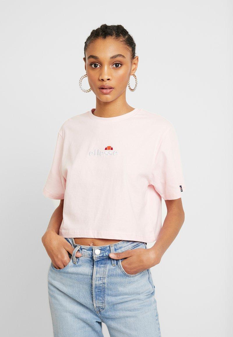 Ellesse - FIREBALL - Print T-shirt - light pink
