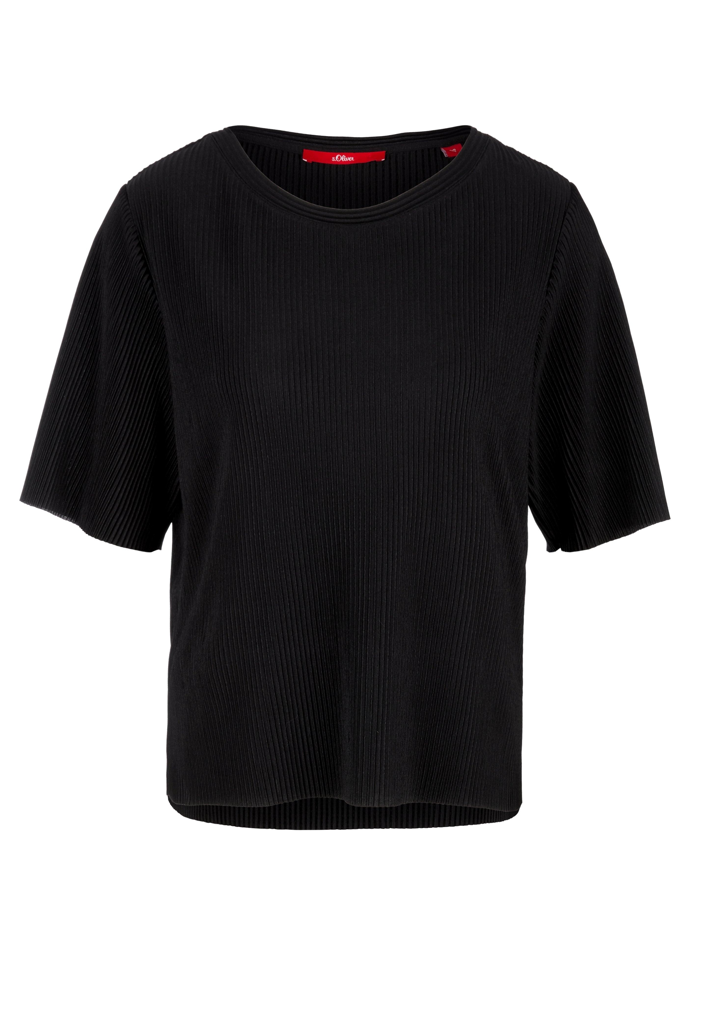 Damen PLISSEEFALTEN - T-Shirt basic