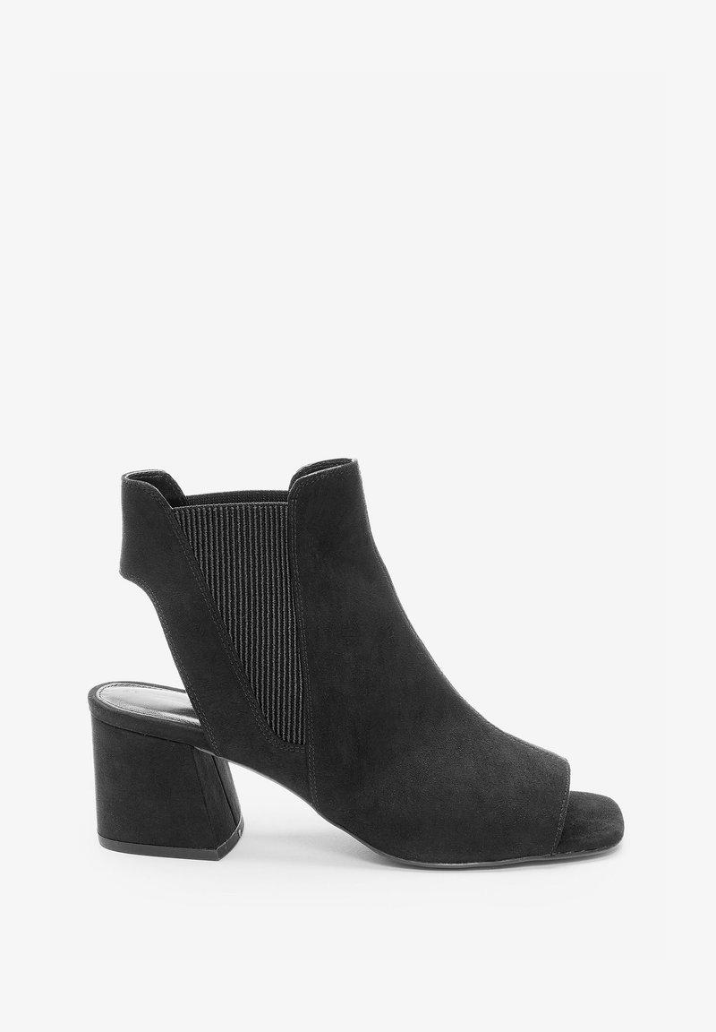 Next - Ankle cuff sandals - black