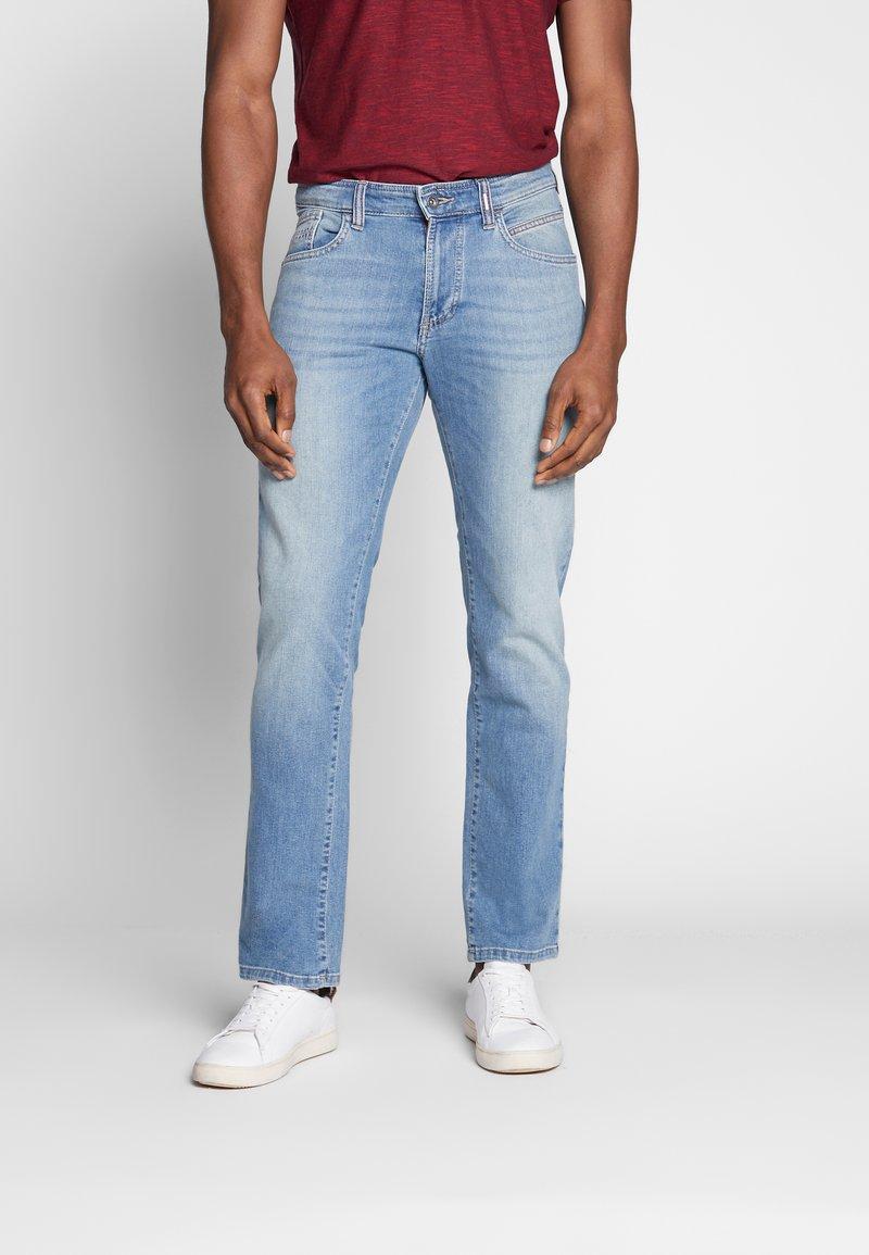 camel active - FLEX - Straight leg jeans - stone blue